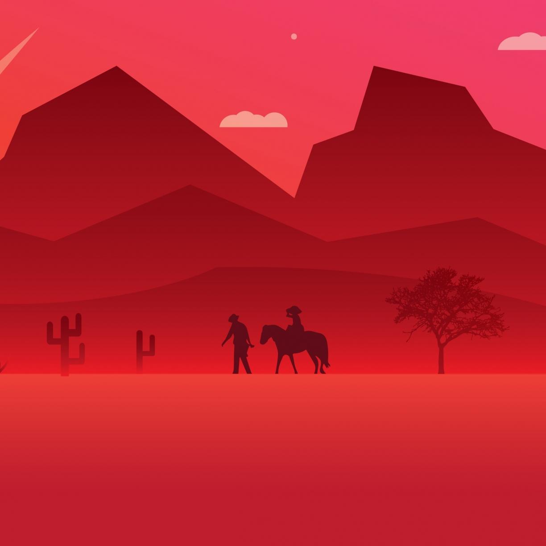 Desktop Wallpaper Mountains Minimal Red Dead Redemption 2 Video