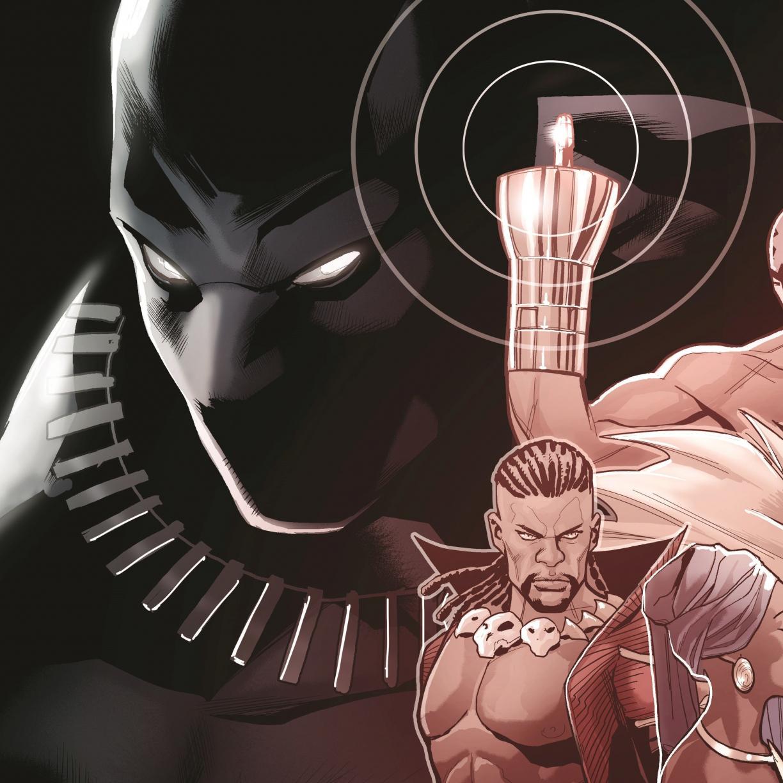 Black panther, superhero, comics, 1224x1224 wallpaper