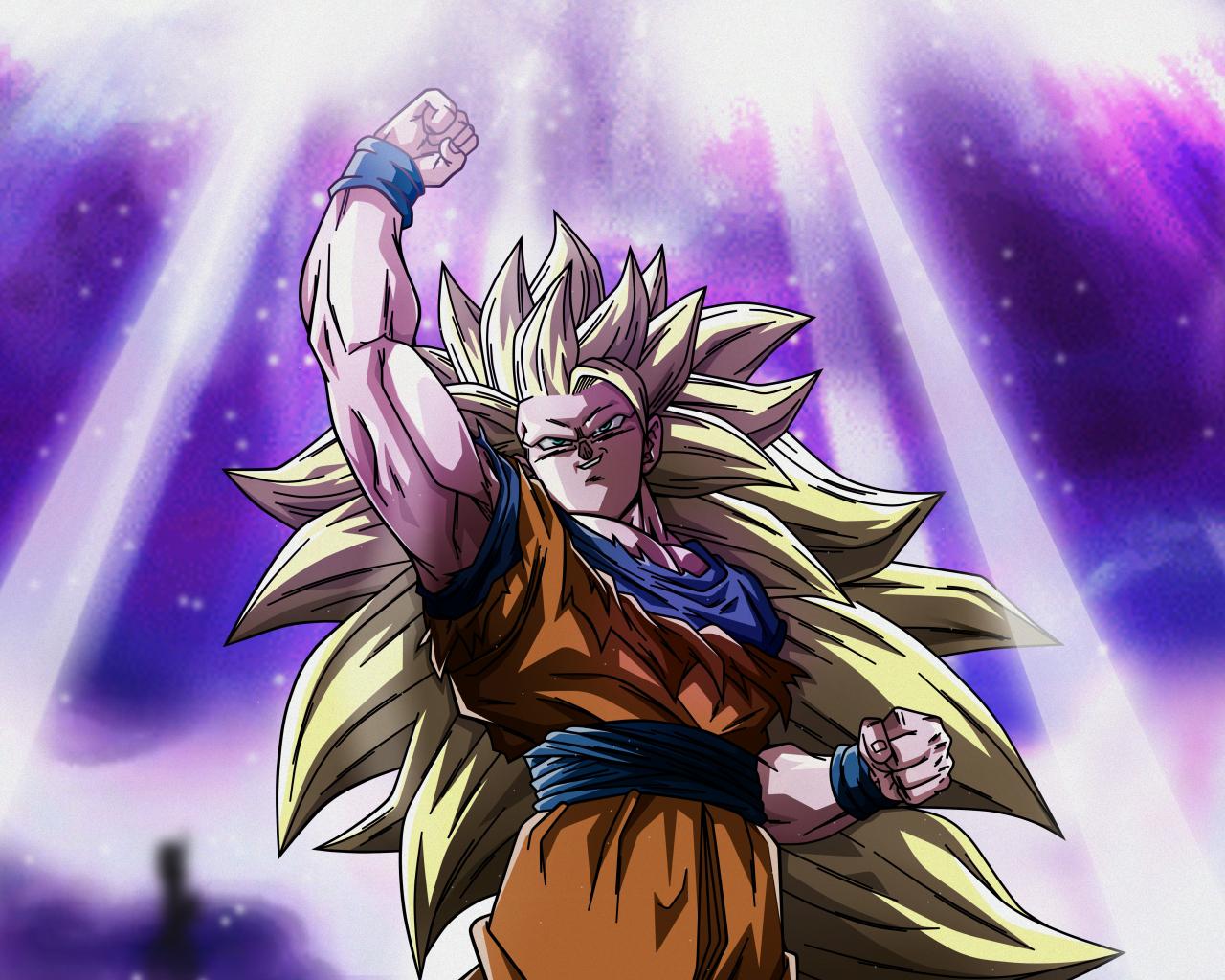Download 1280x1024 Wallpaper Goku Super Saiyan Anime Dragon