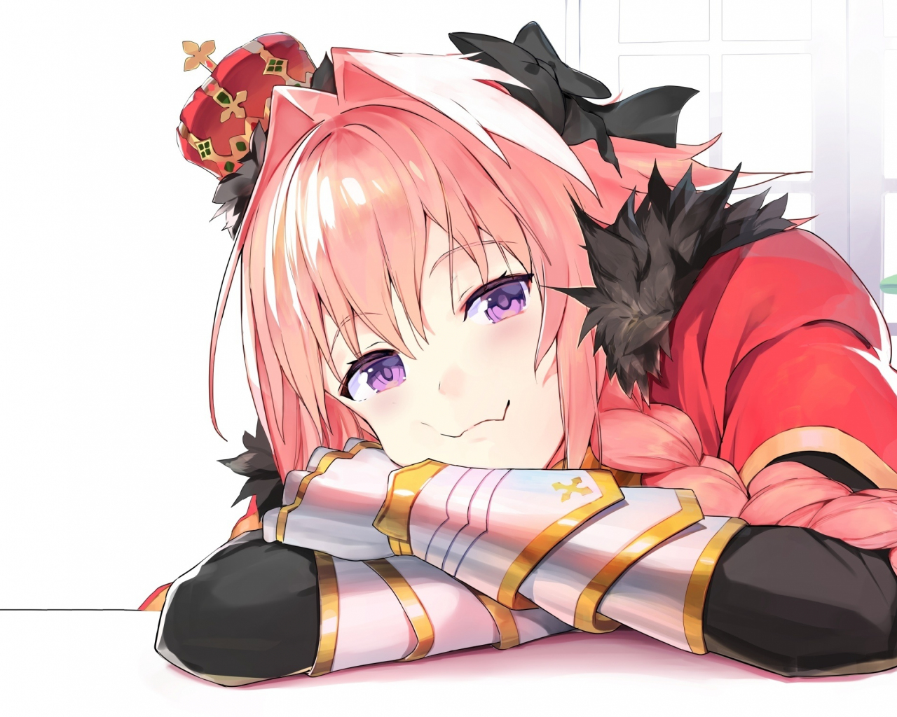 Download 1280x1024 Wallpaper Cute Smile Astolfo Fate Apocrypha Standard 5 4 Fullscreen 1280x1024 Hd Image Background 5606
