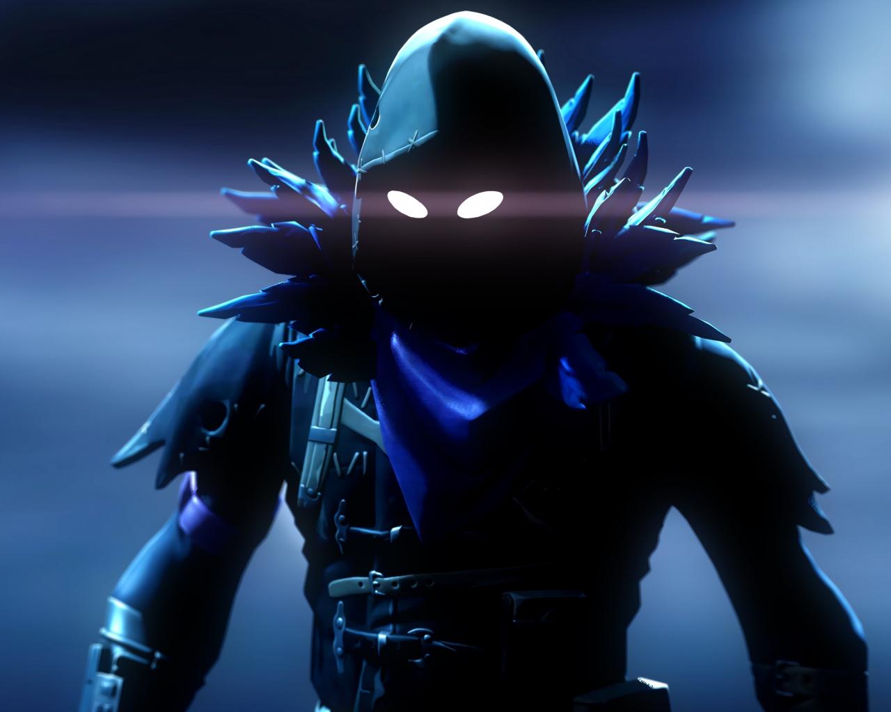 Raven, Video Game, Fortnite, Dark, 1280x1024 Wallpaper