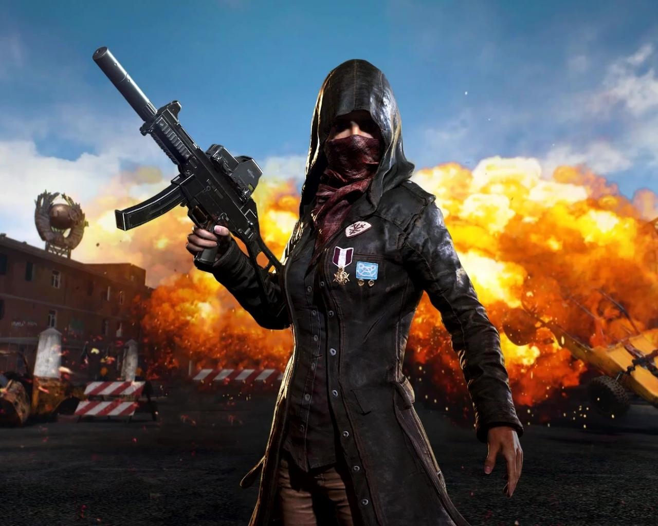 PlayerUnknowns Battlegrounds PUBG Popular Video Game 1280x1024 Wallpaper