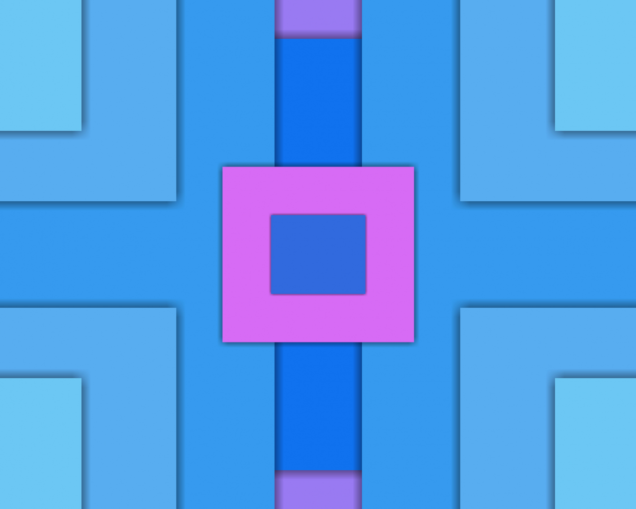Squares, abstract, material design, 1280x1024 wallpaper