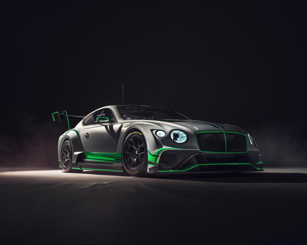 2018 Bentley Continental GT3, 2018 luxury car, 1280x1024 wallpaper