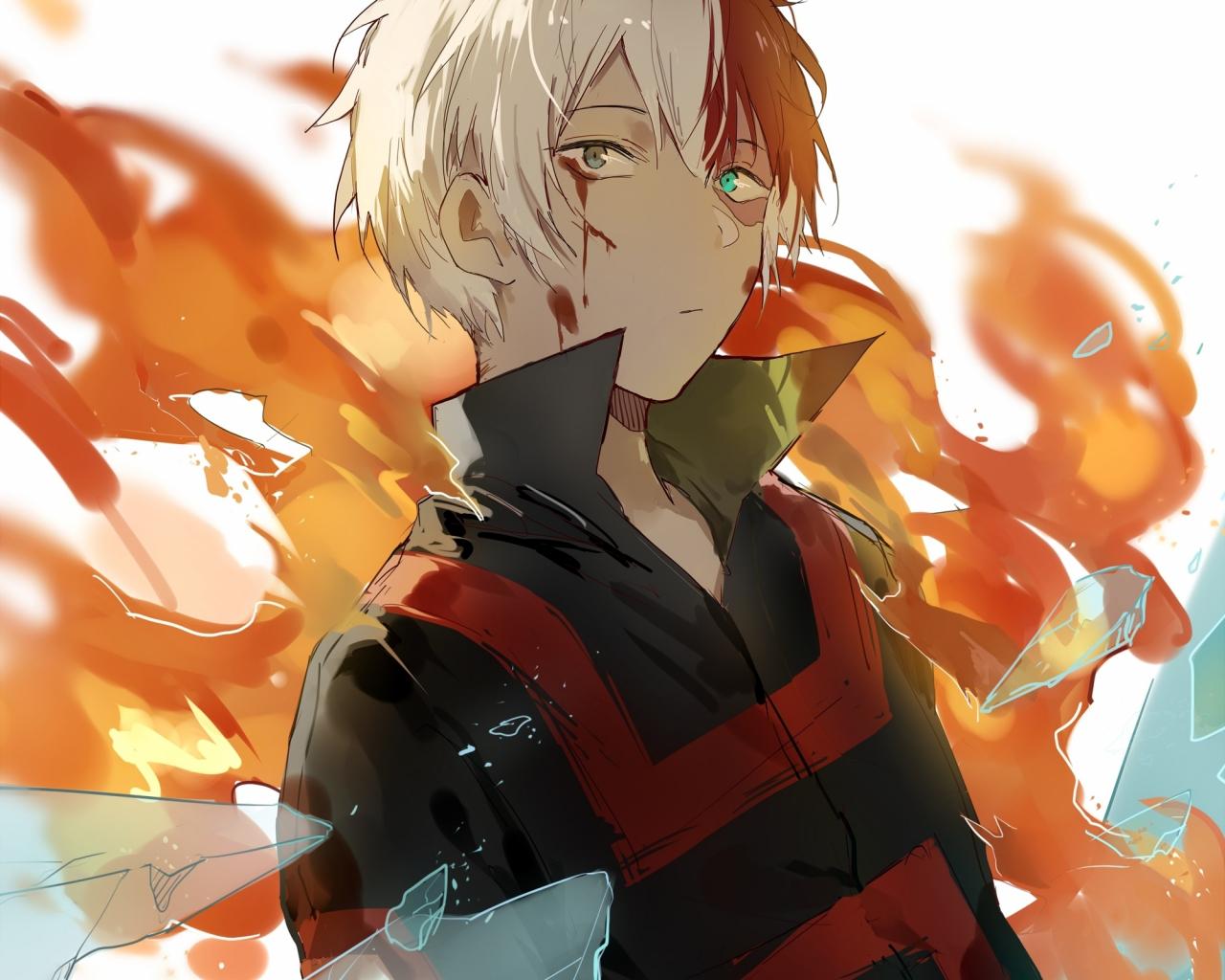 Download 1280x1024 Wallpaper Boku No Hero Academia Anime Shouto
