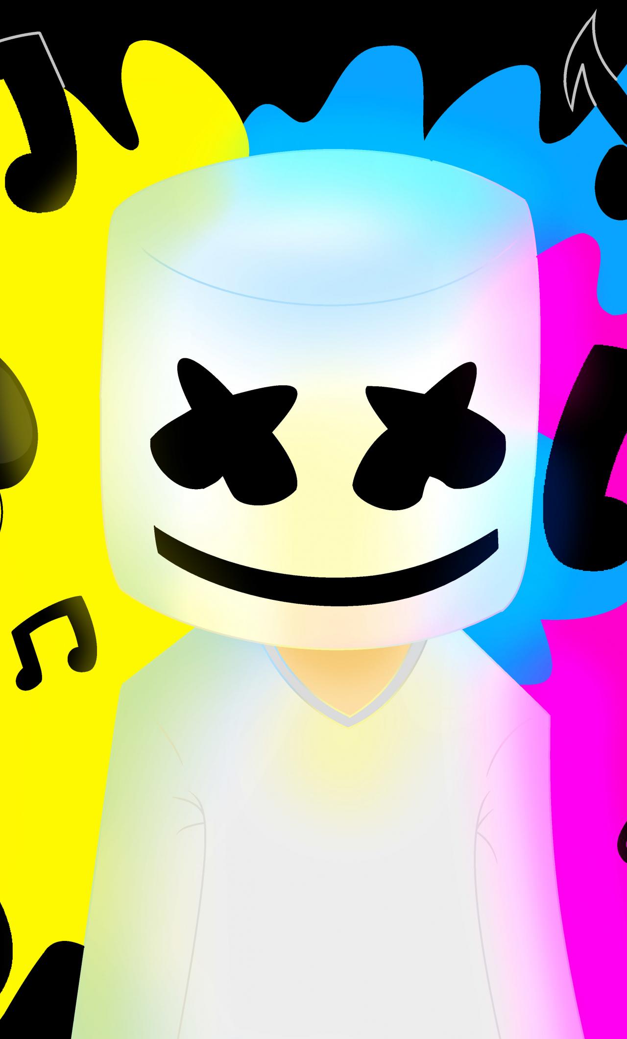 Marshmello Music Colorful X Wallpaper