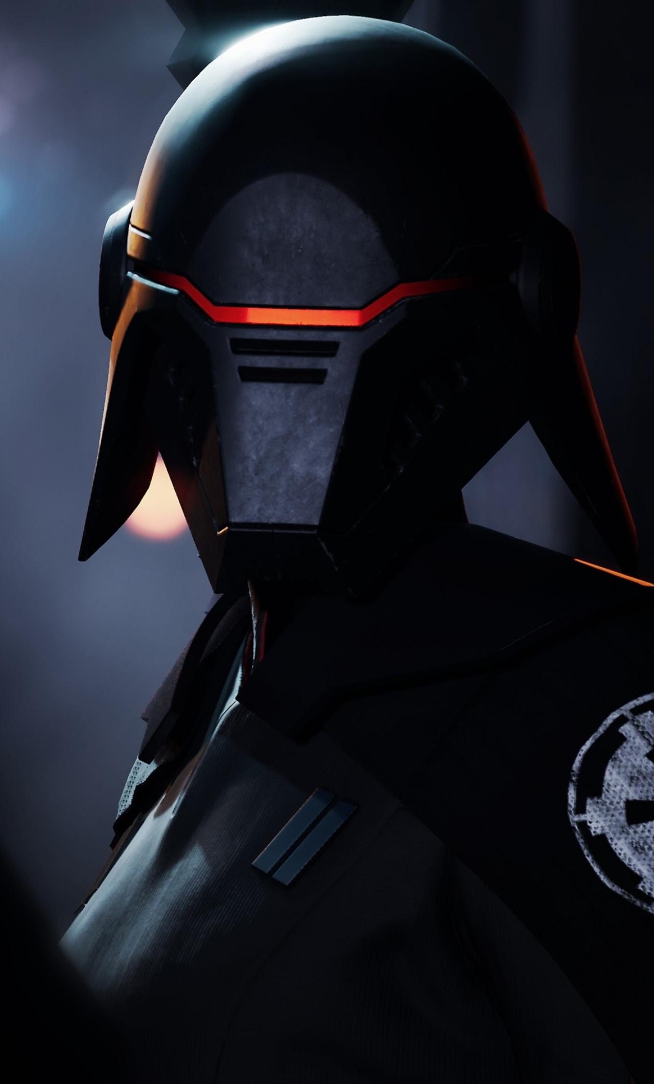 Download 1280x2120 Wallpaper Second Sister Star Wars Jedi Fallen