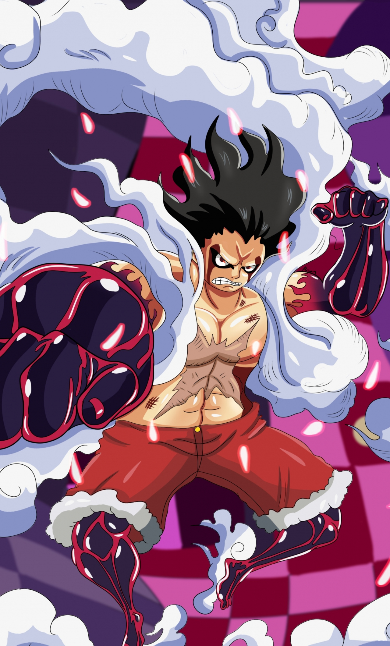 Download 1280x2120 Wallpaper Artwork One Piece Monkey D Luffy Iphone 6 Plus 1280x2120 Hd Image Background 10090