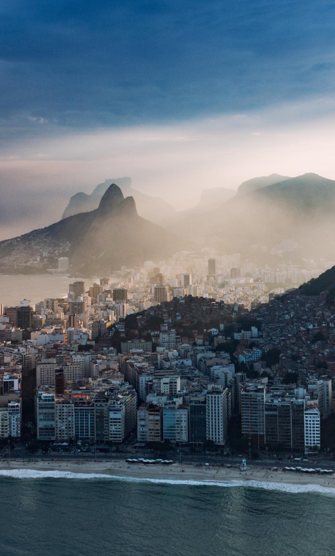 Download 1280x2120 Wallpaper Rio De Janeiro City Buildings