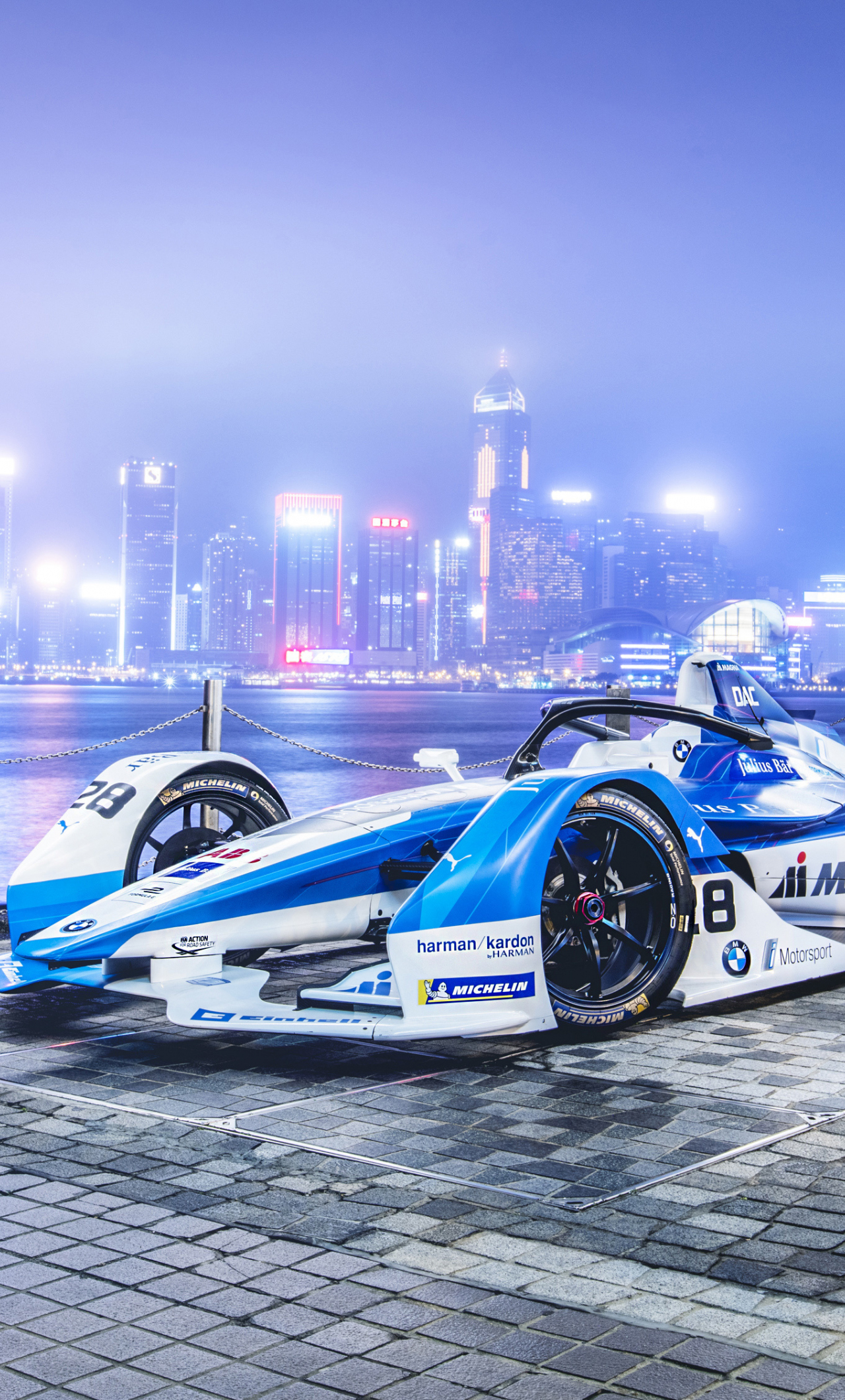 Download 1280x2120 wallpaper race car, bmw ife.18, formula ...
