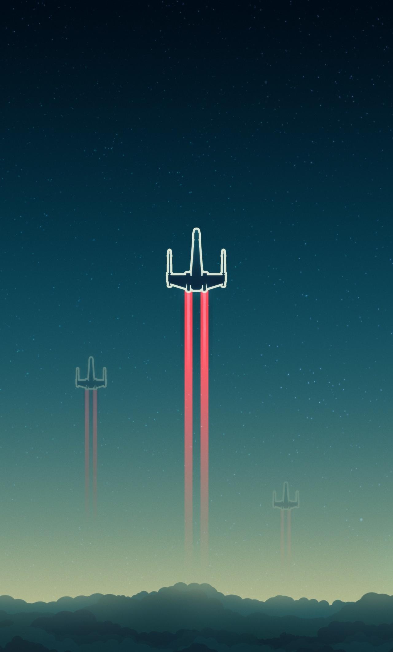 Force Awakens X Wing Wallpaper