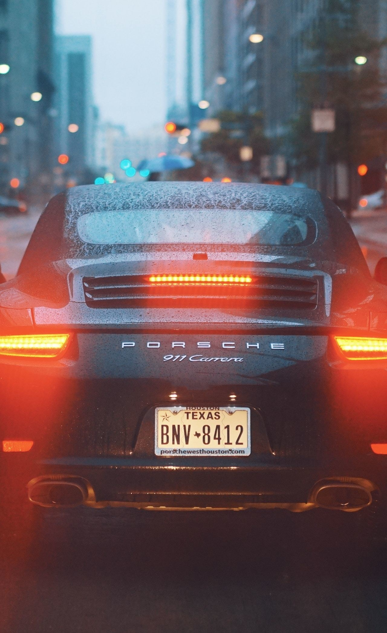 Download 1280x2120 Wallpaper Porsche 911 Carrera S Rear On
