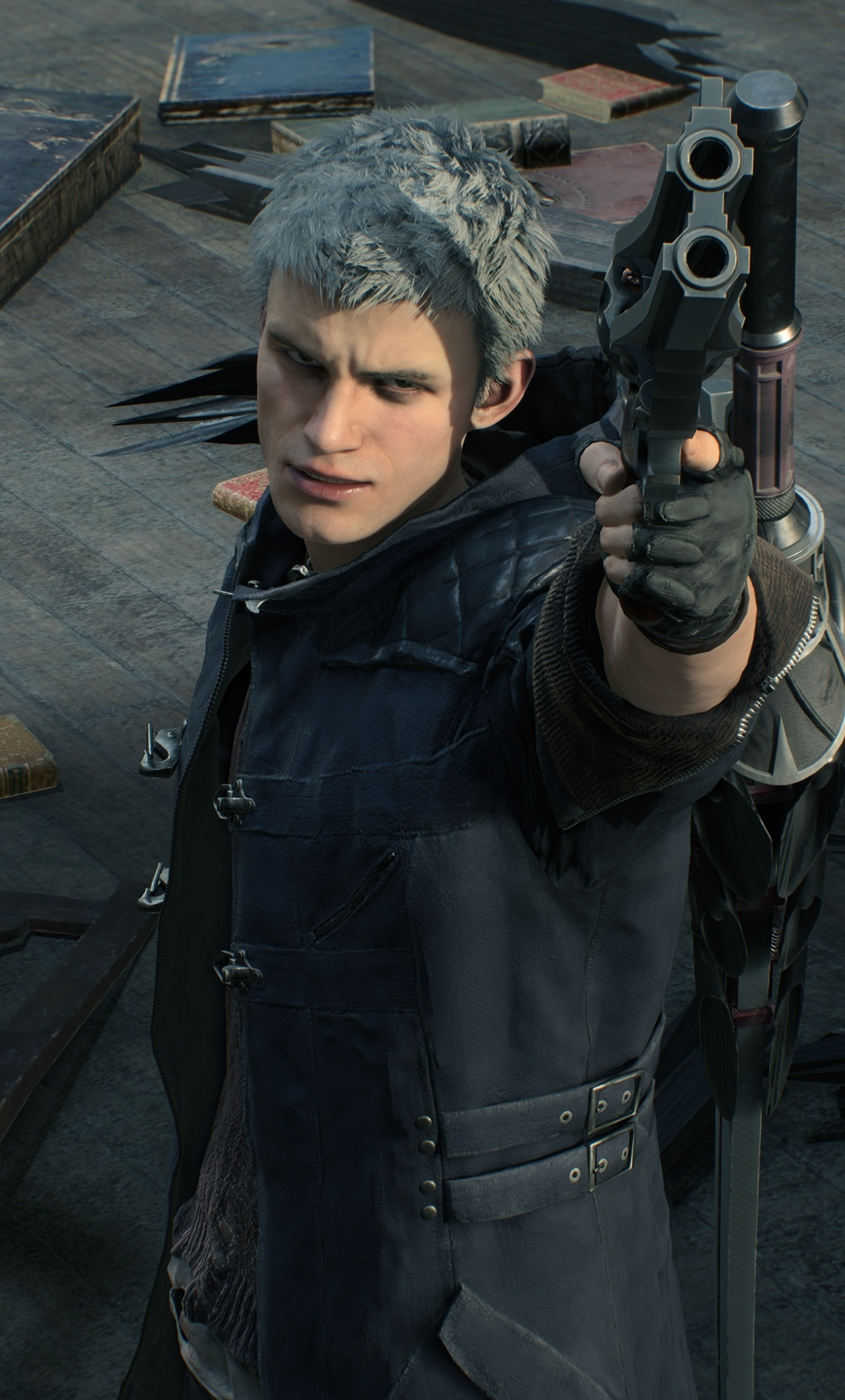 Download 1280x2120 Wallpaper Devil May Cry 5 Video Game Nero