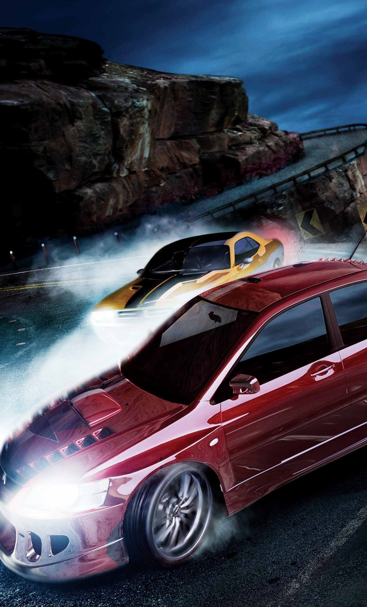Download 1280x2120 Wallpaper Need For Speed Carbon Car Chase