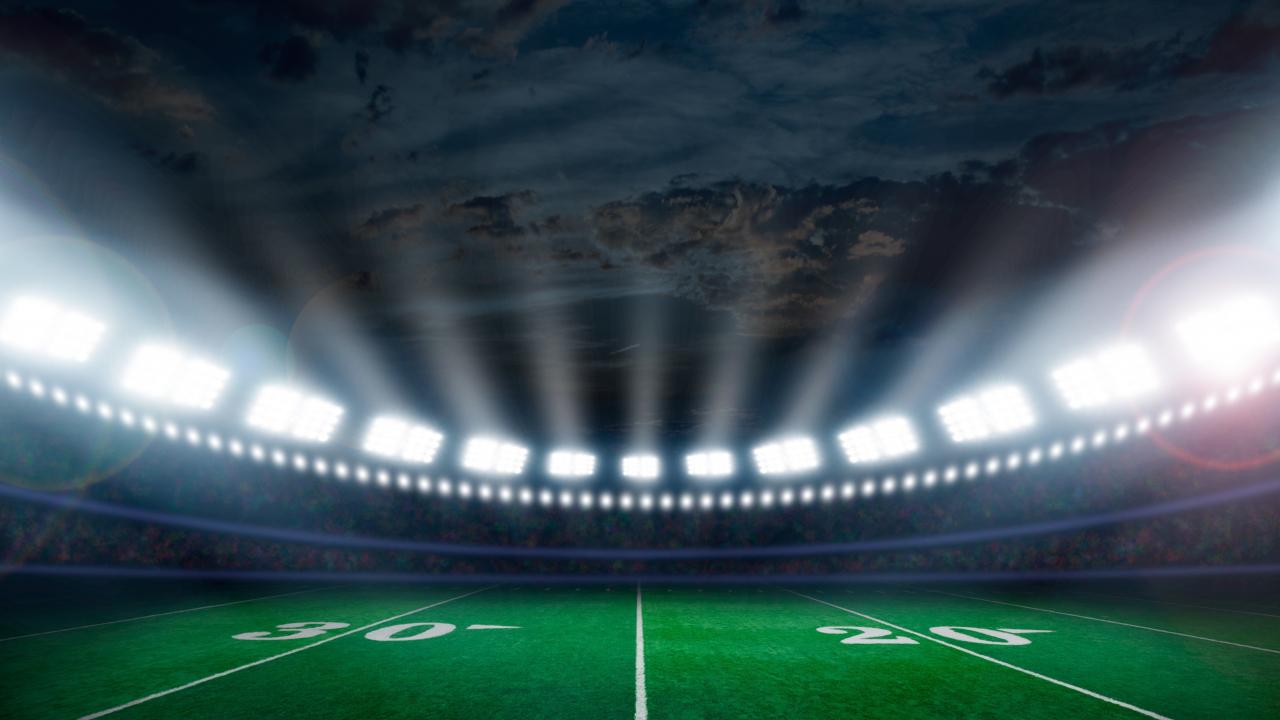 Desktop Wallpaper Stadium Football Lights Sports Hd