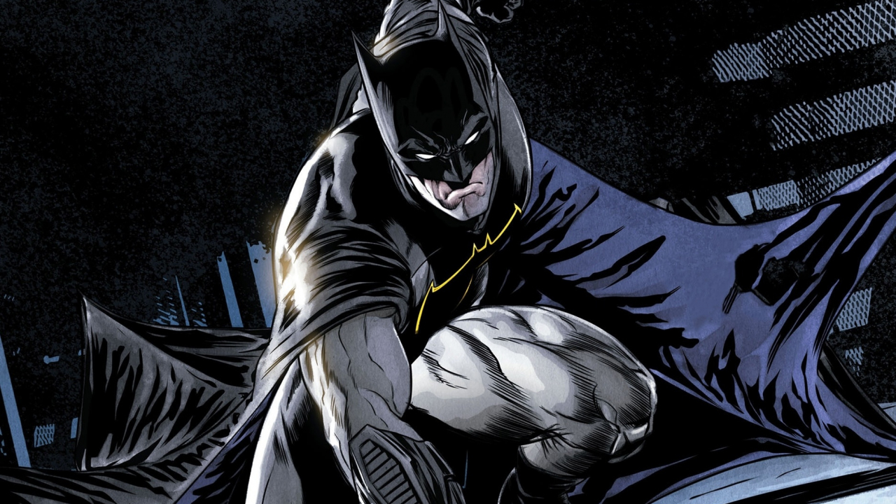 Comics, batman, dark knight, superhero, 1280x720 wallpaper