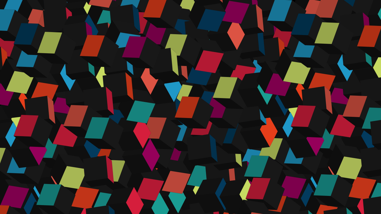 Squares Pattern Abstract 1280x720 Wallpaper
