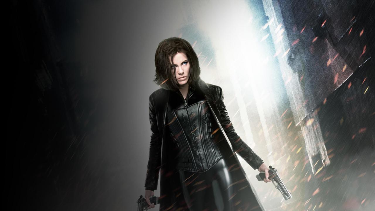 Vampire, Kate Beckinsale, Underworld, movie, 1280x720 wallpaper