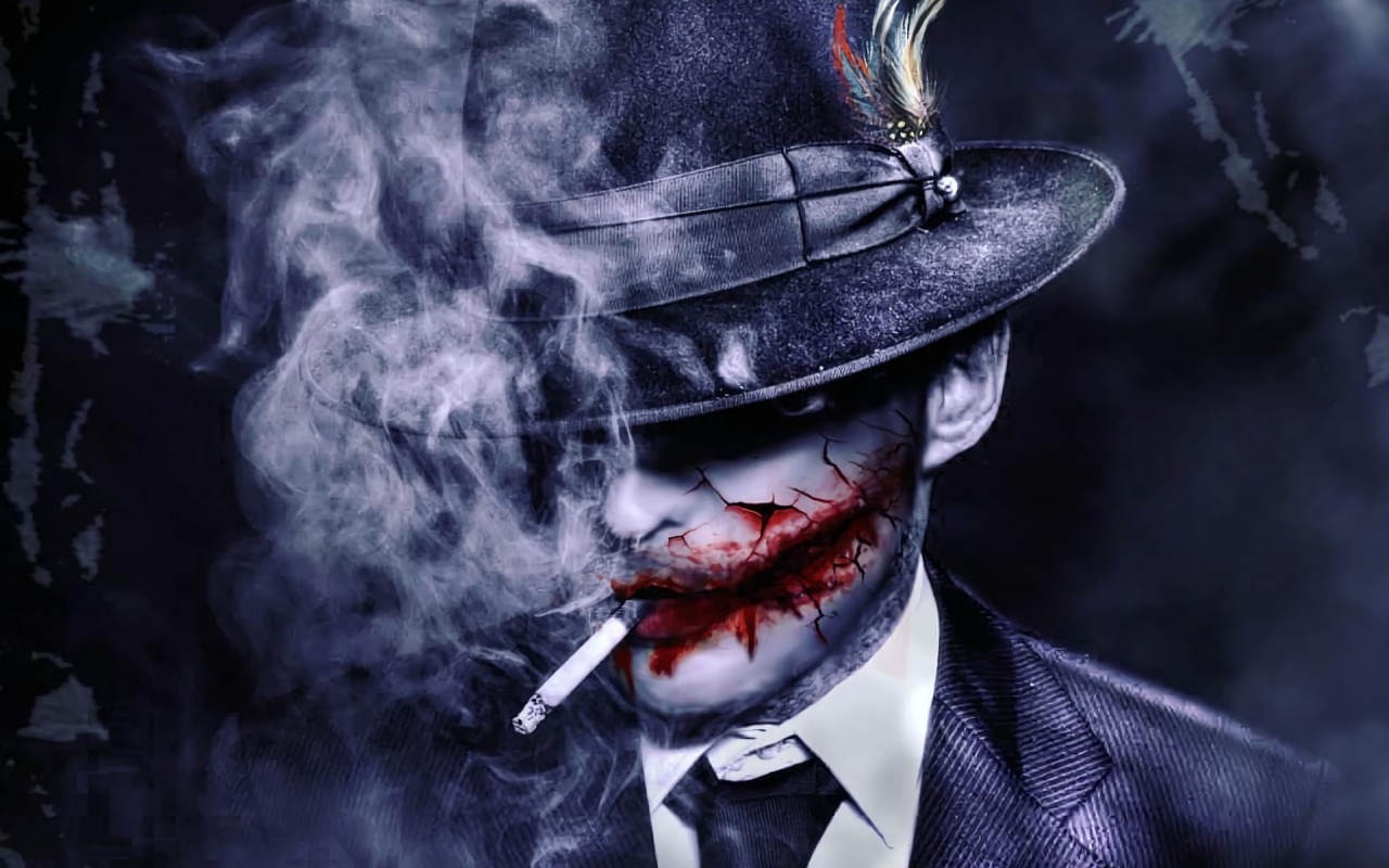 Download 1280x800 Wallpaper The Joker Dc Comics Artwork Full Hd