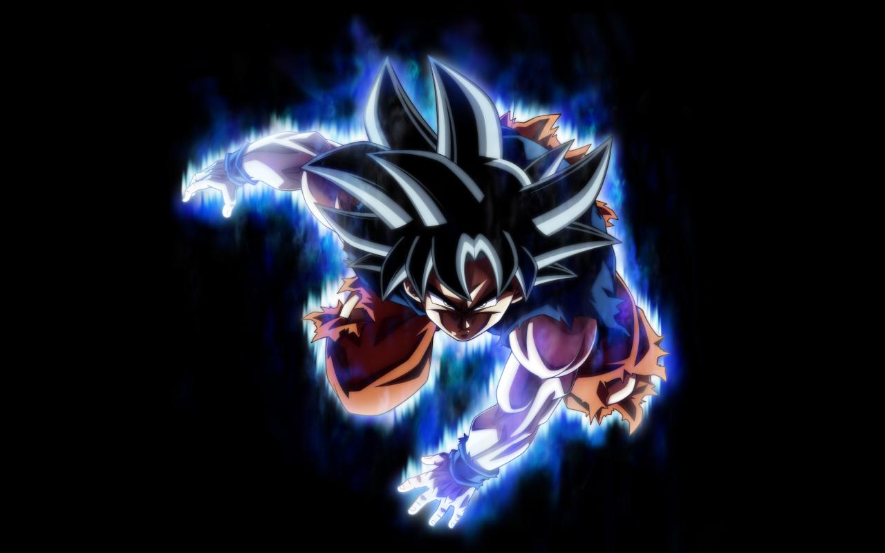 Dragon ball super, Super Saiyan, goku, 1280x800 wallpaper
