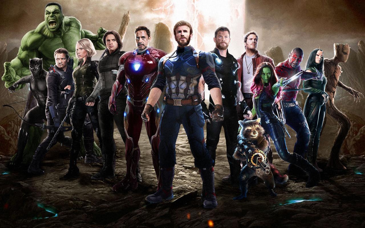 Download 1280x800 Wallpaper Team Of Superheroes Movie 2018