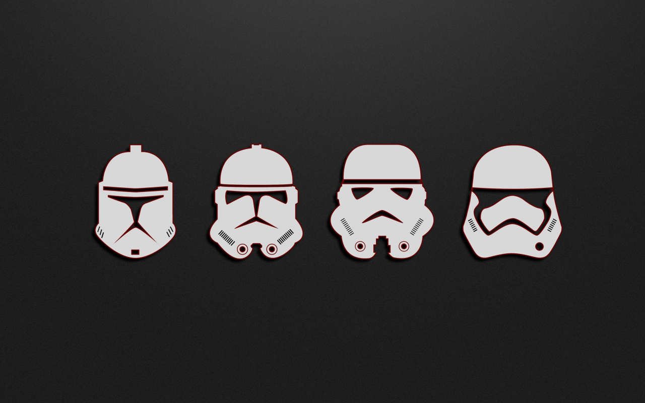 Download 1280x800 Wallpaper Minimal Soldiers Stormtrooper Star Wars Full Hd Hdtv Fhd 1080p Widescreen 1280x800 Hd Image Background 5349
