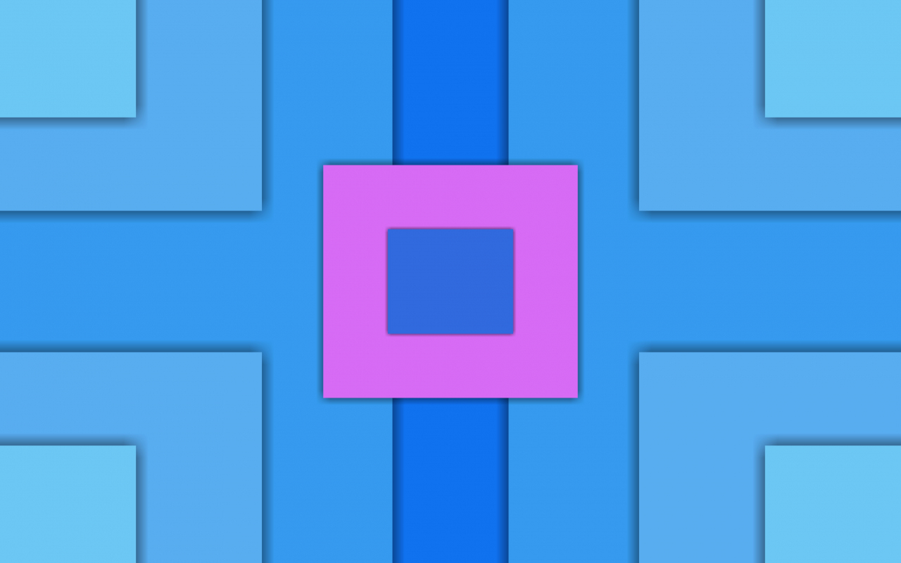 Squares, abstract, material design, 1280x800 wallpaper