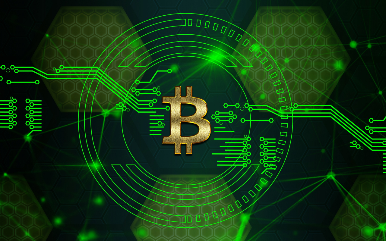 Download 1280x800 wallpaper bitcoin digital circuit crypt currency art full hd hdtv fhd - 1366x768 is 720p or 1080p ...