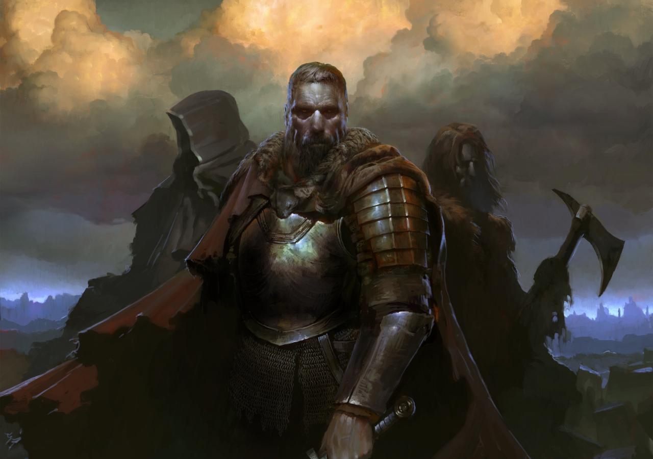 SpellForce 3, warriors, Video game, 1280x900 wallpaper