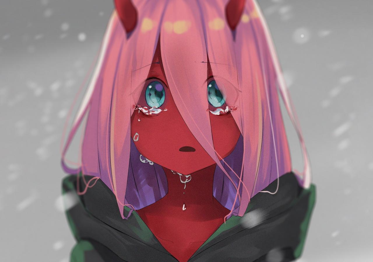 Download 1280x900 Wallpaper Cute Red Skin Zero Two Teen Anime Girl Widescreen 1280x900 Hd Image Background 7168