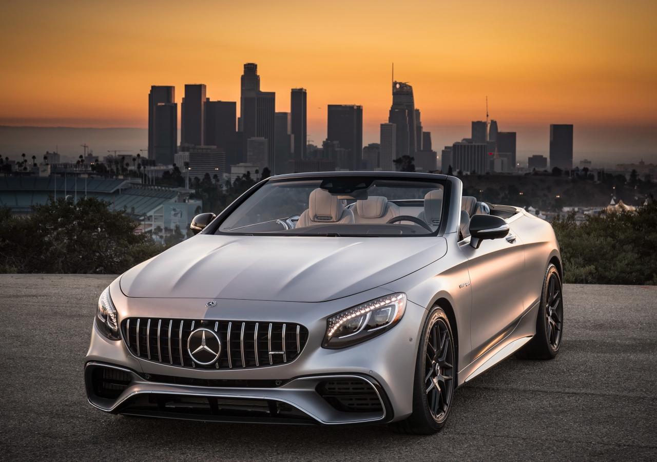 Mercedes-AMG S63 4MATIC Cabriolet, sports car, 1280x900 wallpaper