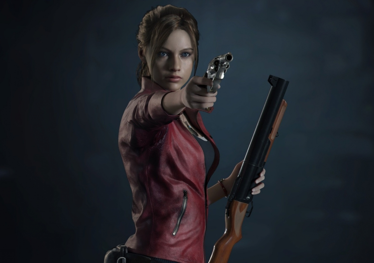 Resident Evil 2, video game, Claire Redfield, 1280x900 wallpaper