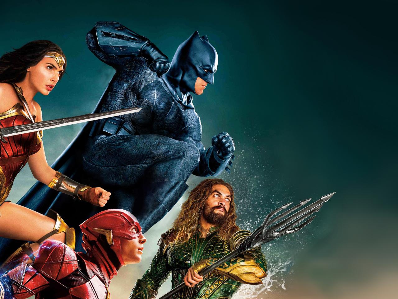 Justice league, movie, superheroes, 1280x960 wallpaper