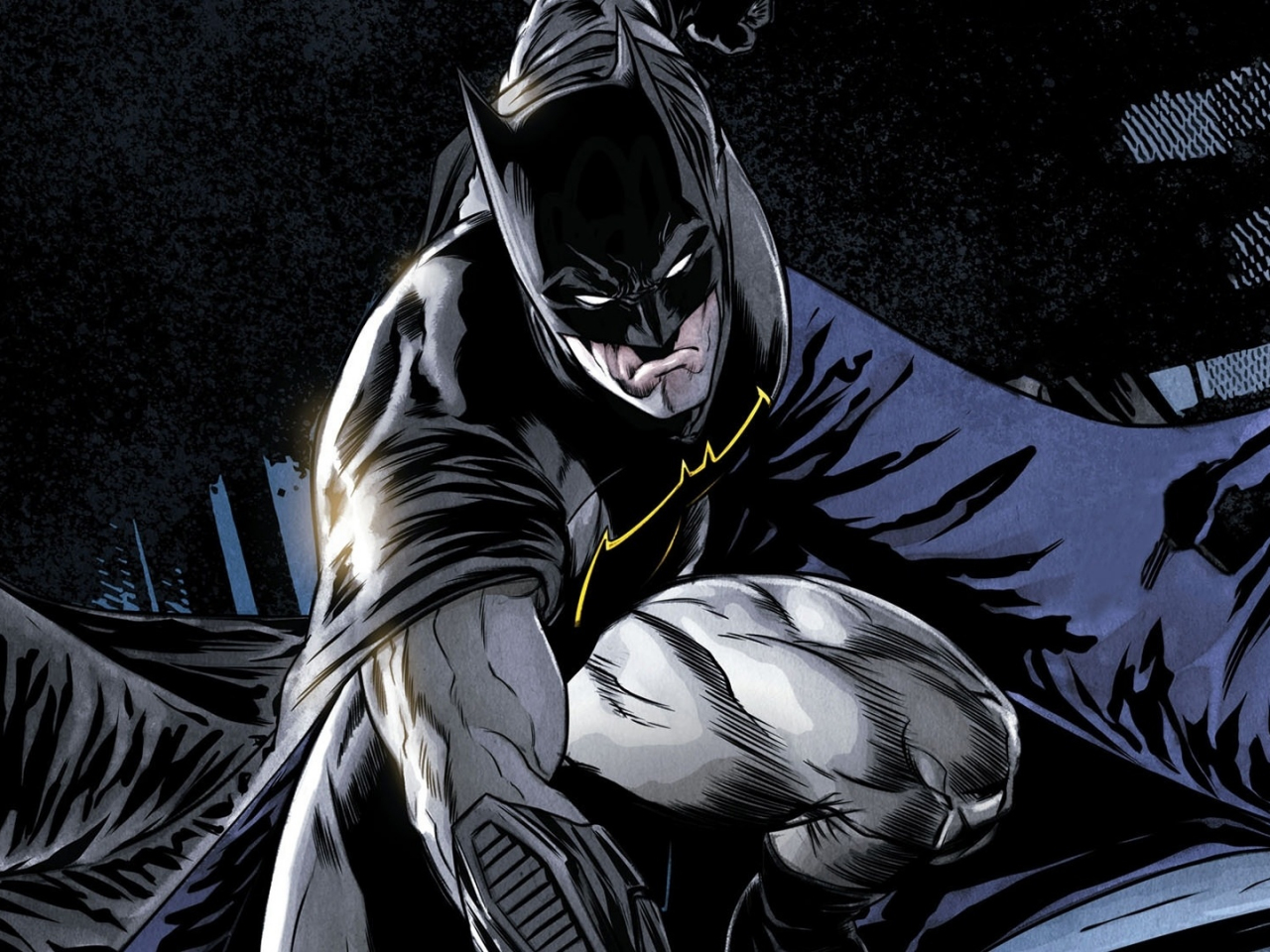 Comics, batman, dark knight, superhero, 1280x960 wallpaper