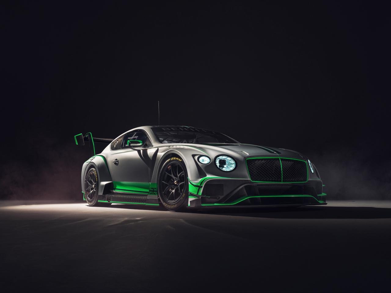 2018 Bentley Continental GT3, 2018 luxury car, 1280x960 wallpaper
