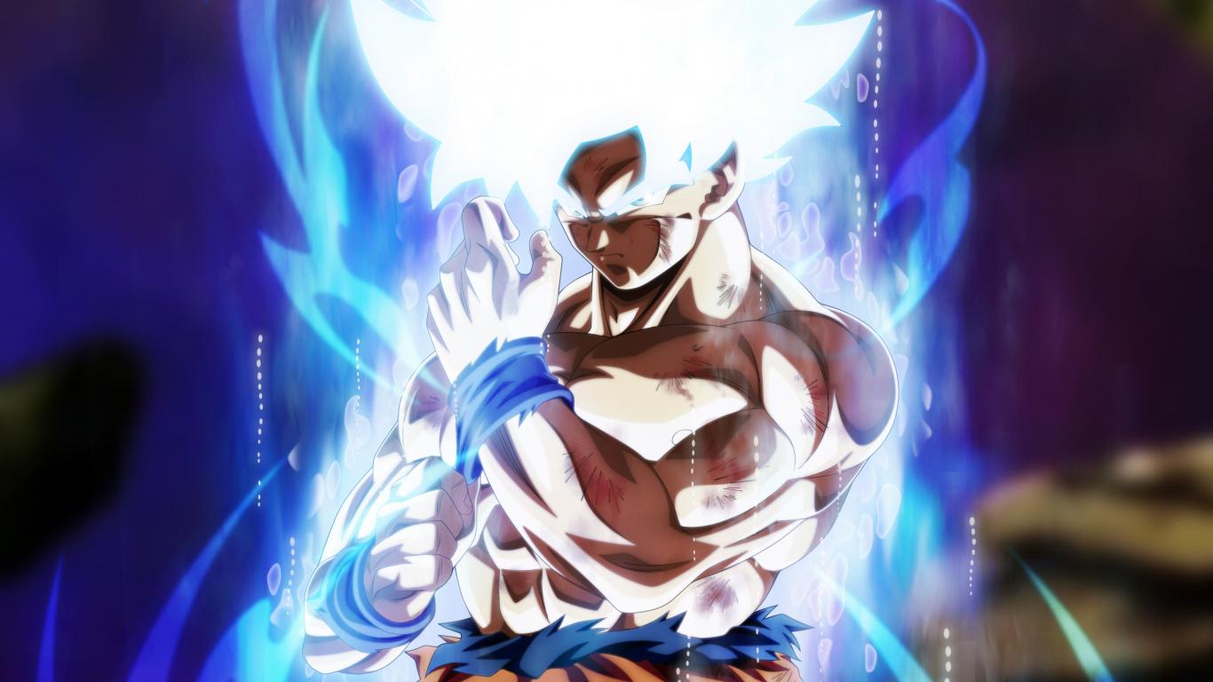 Download 1366x768 wallpaper goku dragon ball super fan art anime goku dragon ball super fan art anime 1366x768 wallpaper voltagebd Images