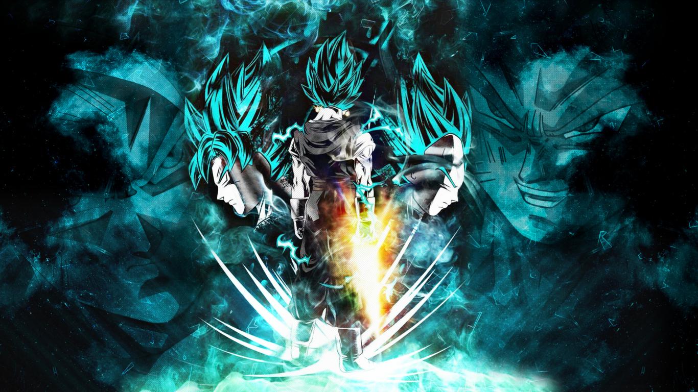Download 1366x768 Wallpaper Vegeta Dragon Ball Artwork