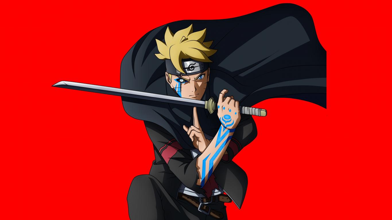 Download 1366x768 Wallpaper Boruto Uzumaki, Naruto