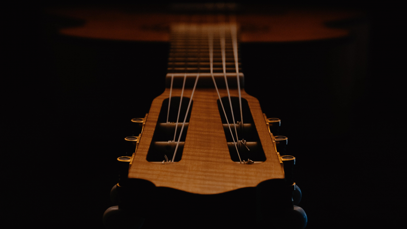 Download 1366x768 Wallpaper Music Instrument Classic Guitar Tablet Laptop 1366x768 Hd Image Background 9879
