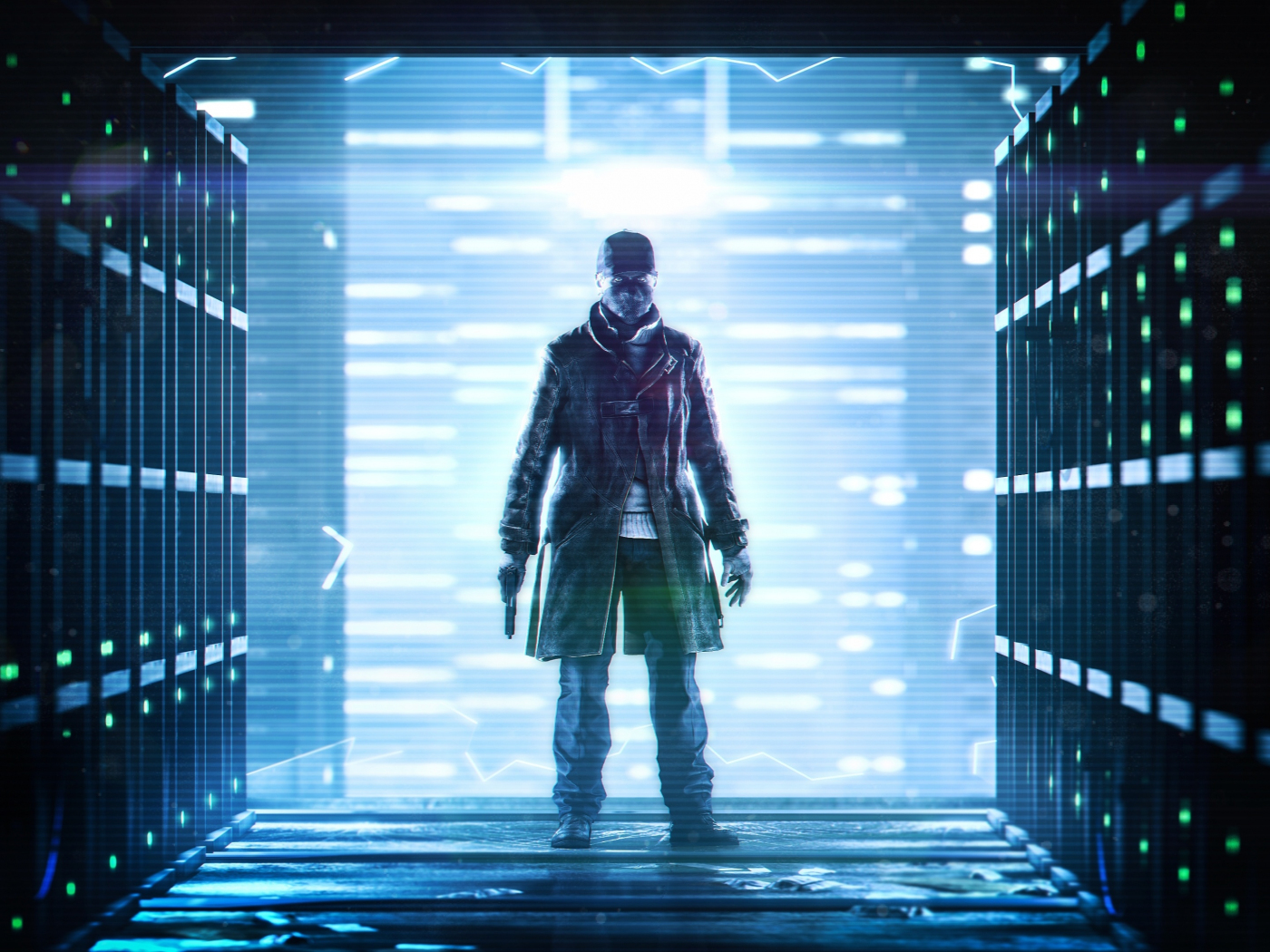 Download 1400x1050 Wallpaper Aiden Pearce Video Game Watch