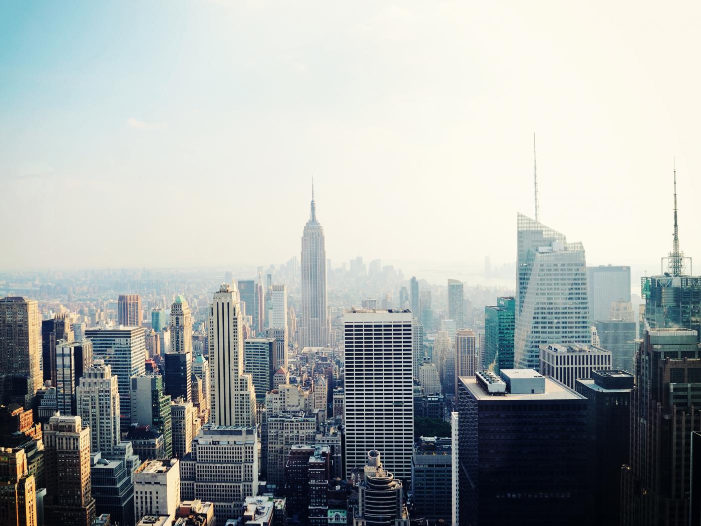 New York, cityscape, buildings, 1400x1050 wallpaper