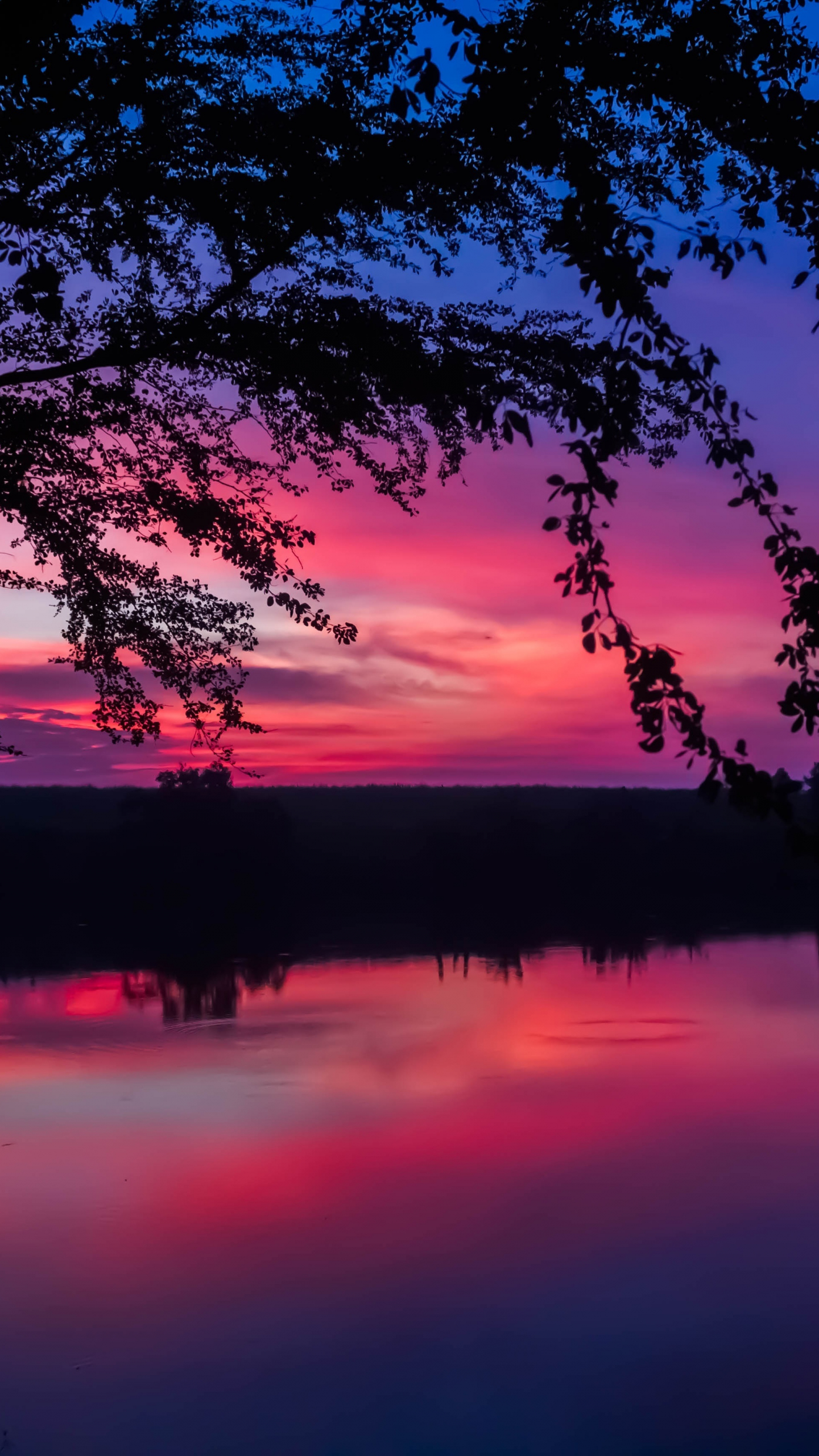 Download 1440x2560 Wallpaper Twilight Sunset Colorful Sky Lake Nature Qhd Samsung Galaxy S6 S7 Edge Note Lg G4 1440x2560 Hd Image Background 6012