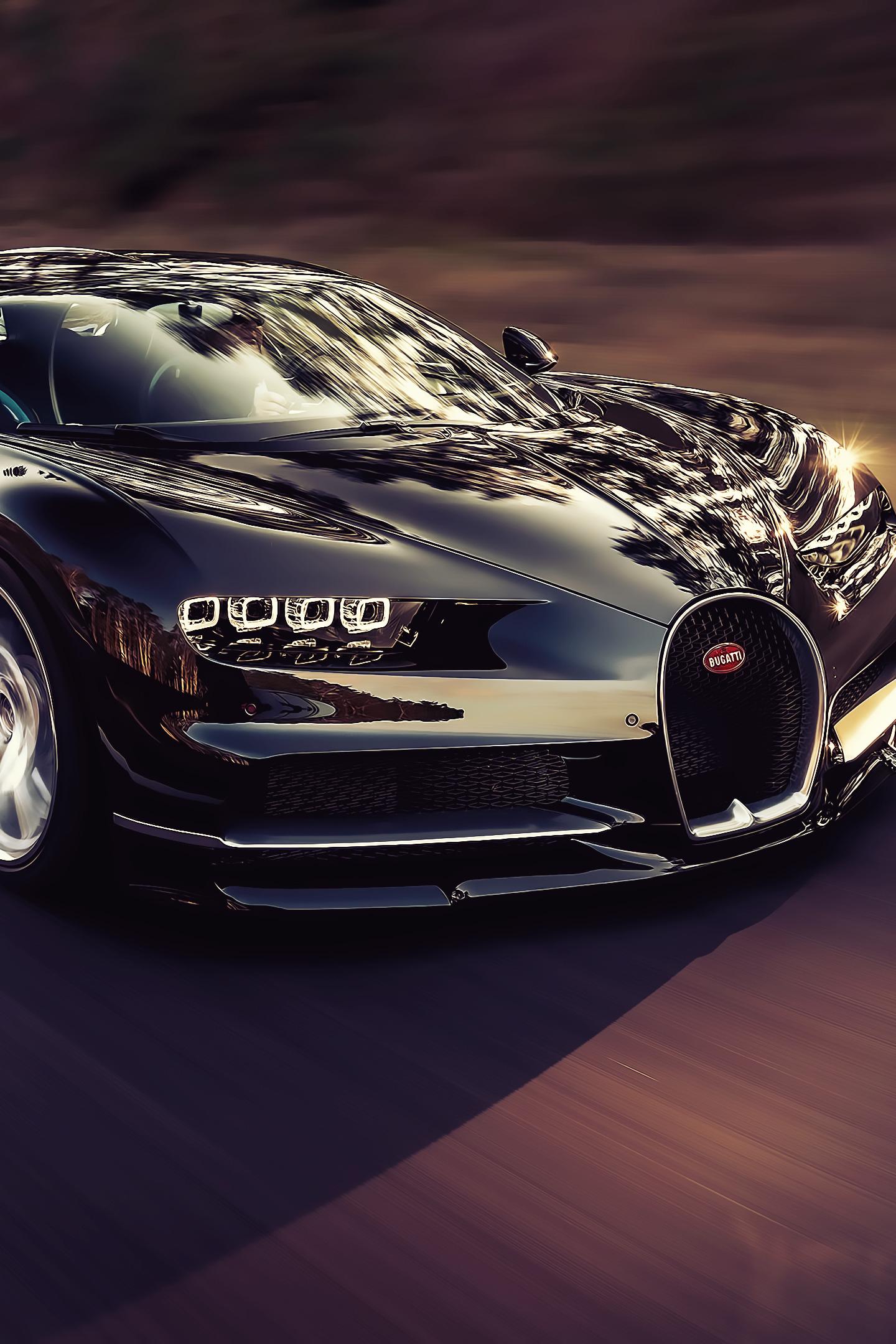 Download 1440x2560 Wallpaper Luxury Car Bugatti Chiron On