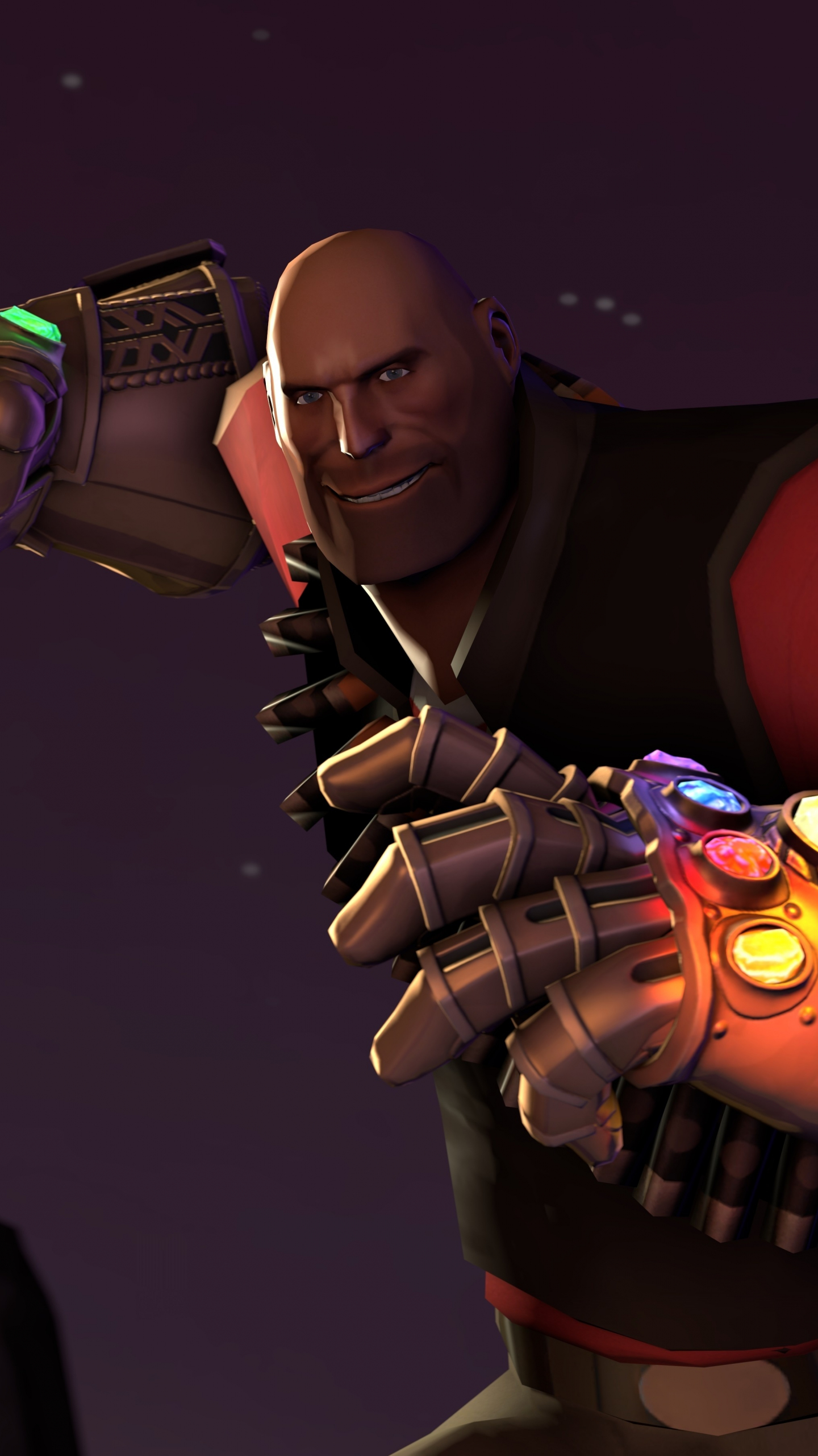 video game thanos infinity gauntlet fortnite 2018 1440x2560 wallpaper - fortnite thanos hd wallpaper