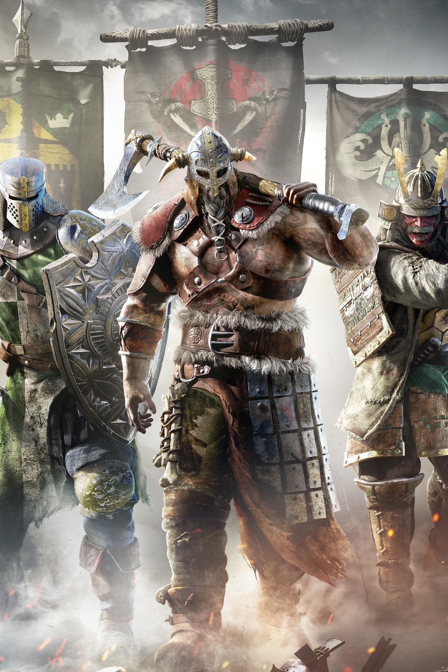 Download 1440x2560 Wallpaper For Honor Video Game Warriors