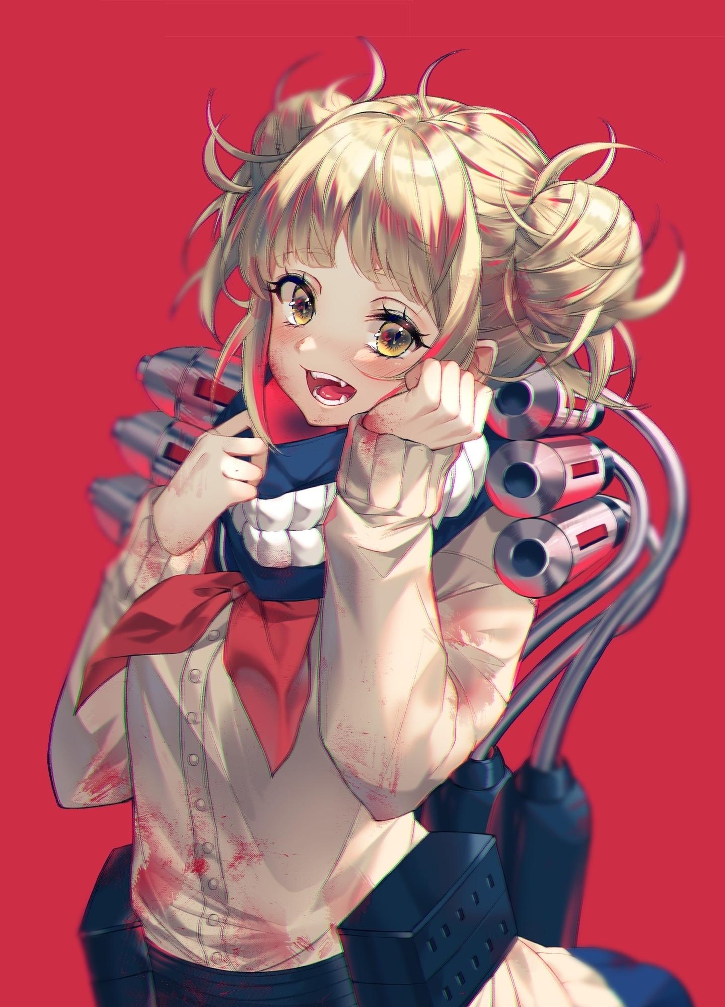 Download 1440x2560 Wallpaper Himiko Toga Boku No Hero