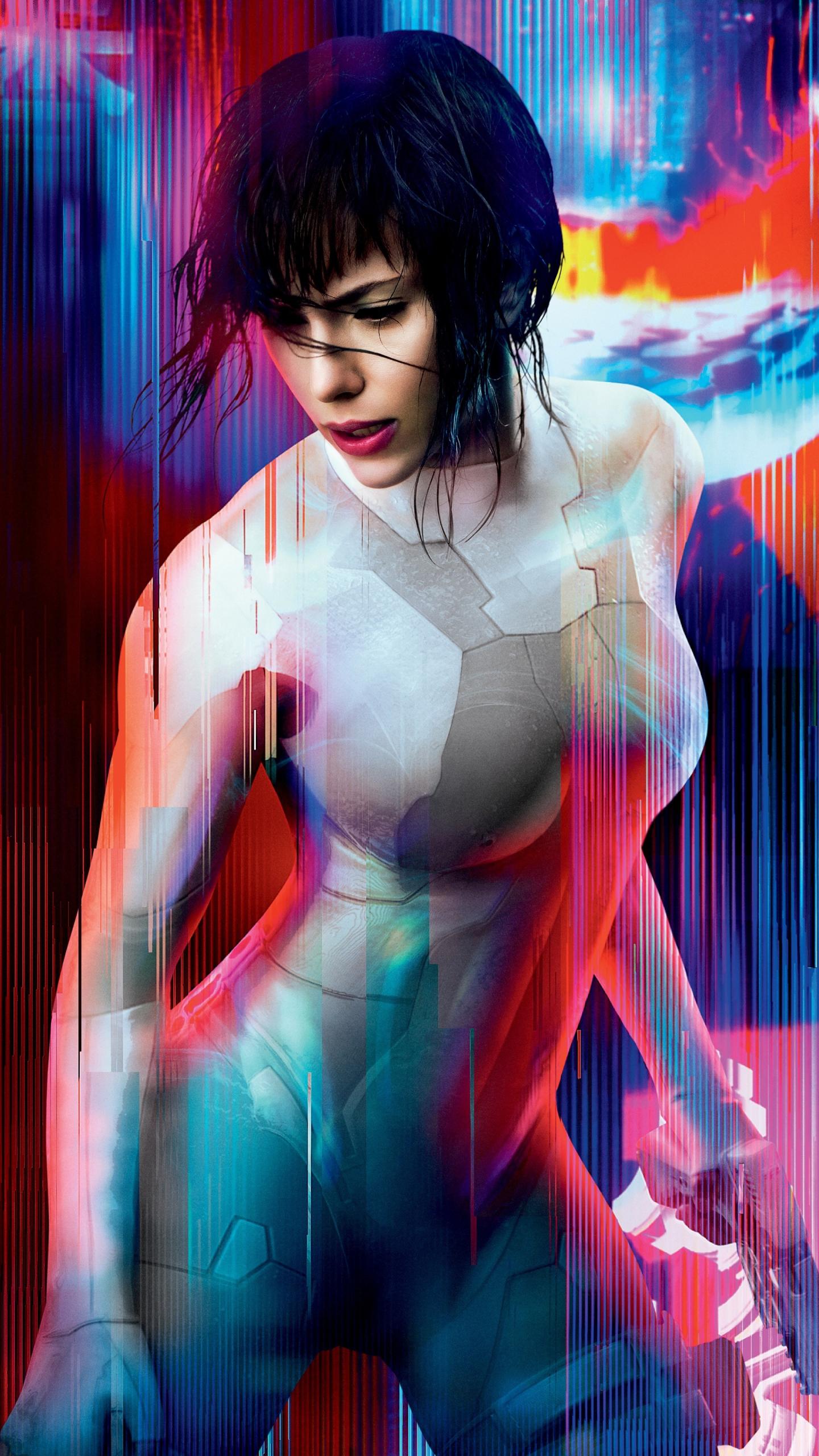 Download 1440x2560 Wallpaper Ghost In The Shell Scarlett
