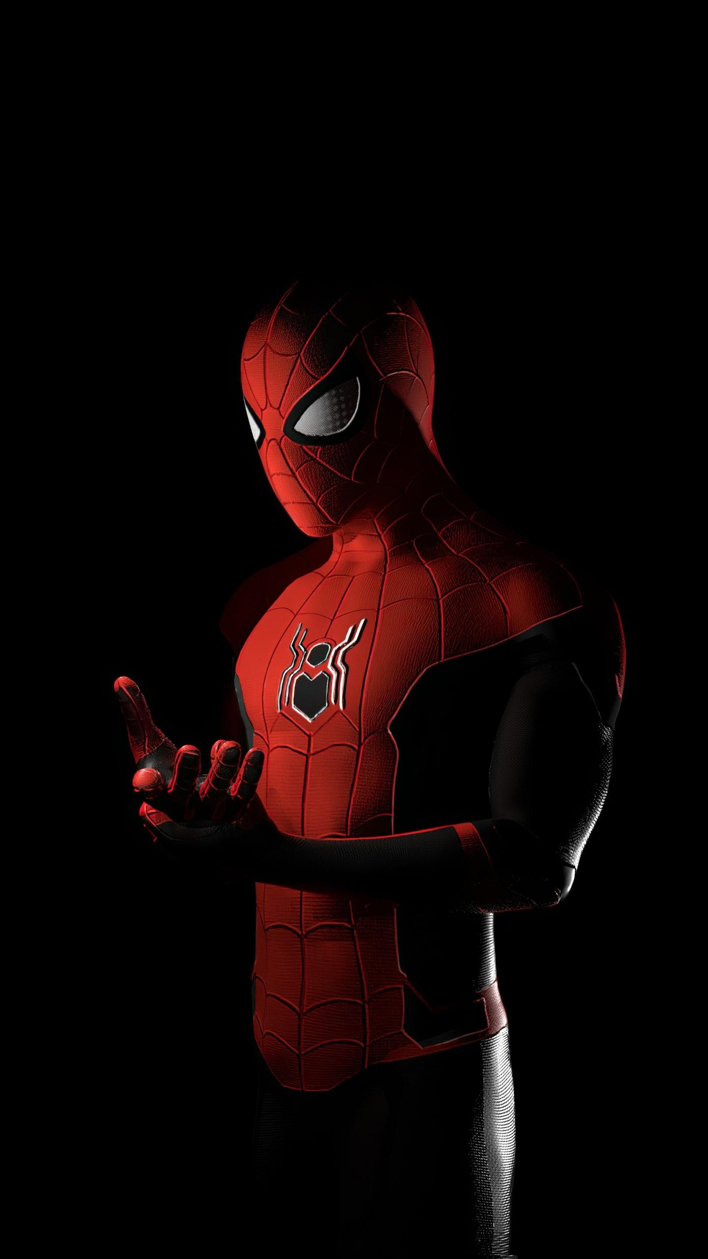 Download 1440x2560 wallpaper spider-man, superhero, art ...