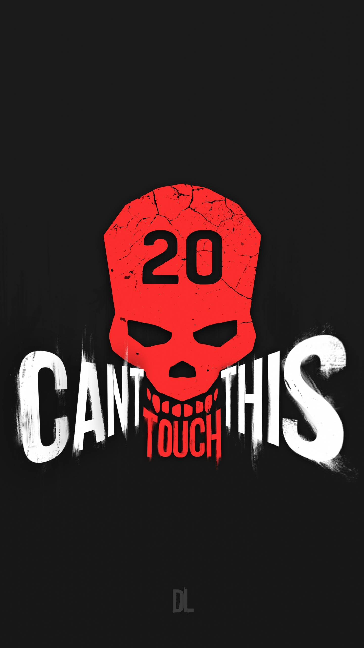 Download 1440x2560 wallpaper cant touch this, skull, dying