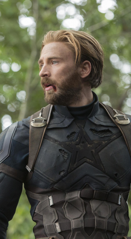 Download 1440x2630 Wallpaper Captain America Chris Evans